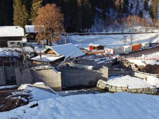 EW Schils Flums Baustelle Zindel Maienfeld