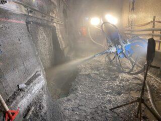 Logbau AG im Einsatz, SBB Tunnel Bommerstein