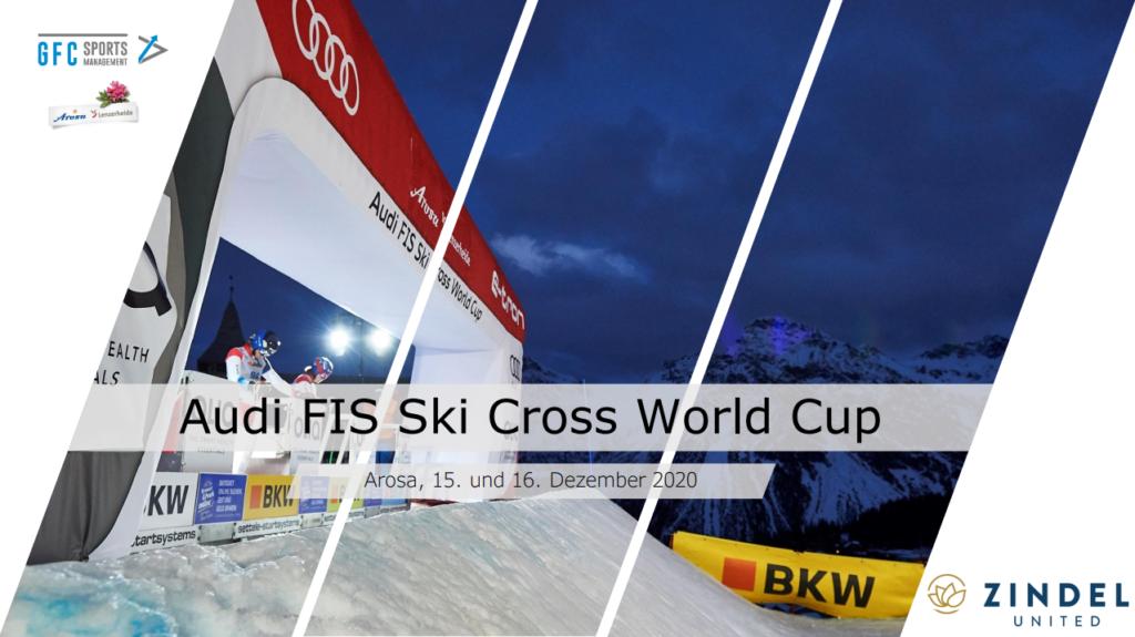 Zindel United Official Sponsor Ski Cross Arosa