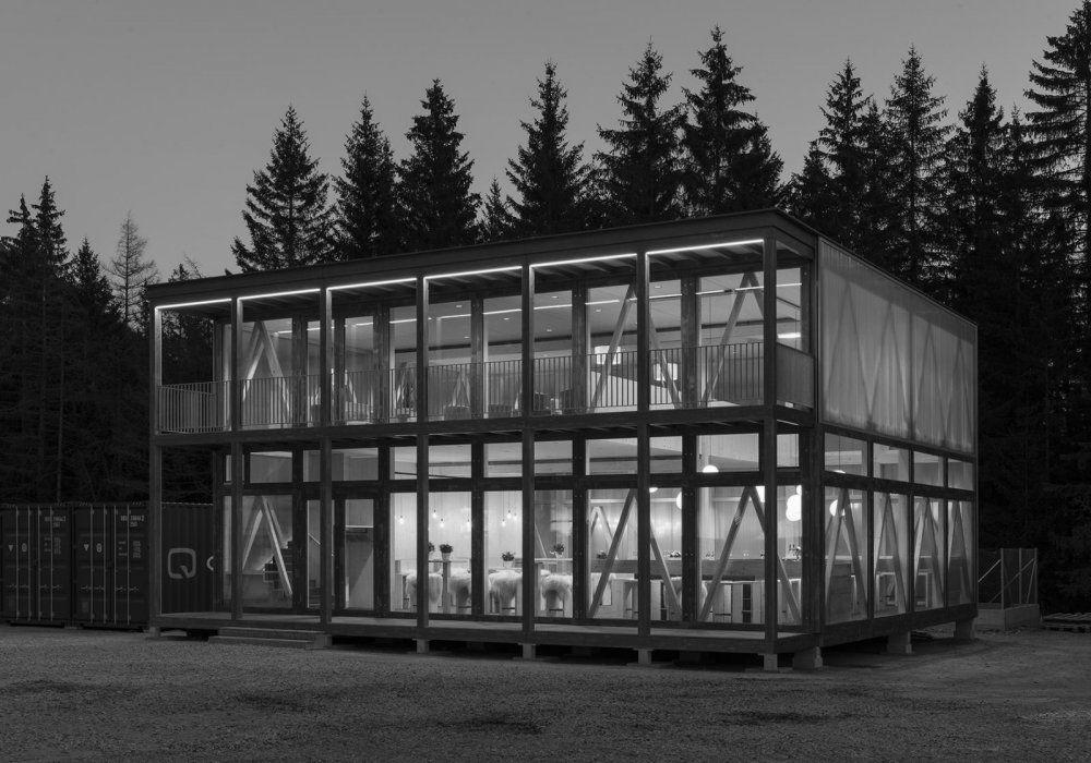 Quadrin - Holzmodule für Tiny houses aus Graubünden
