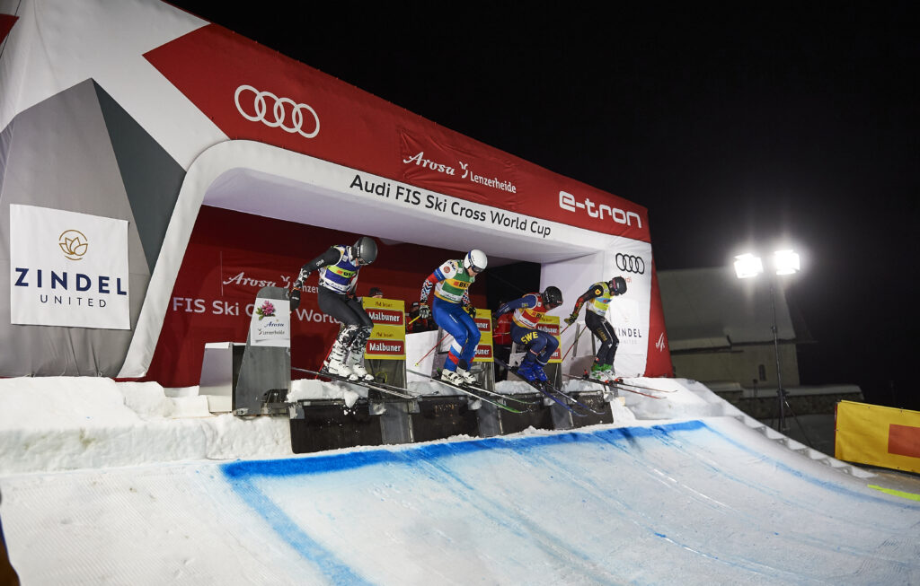 Ski Cross Arosa - Rennen und Resultate